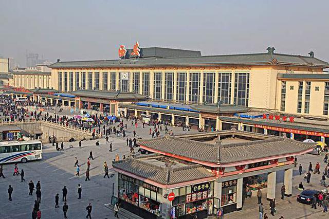 西安火车站改扩建工程迁建机务段通车