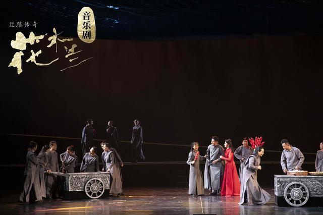 重新解读 原创音乐剧《丝路传奇·花木兰》西安上演
