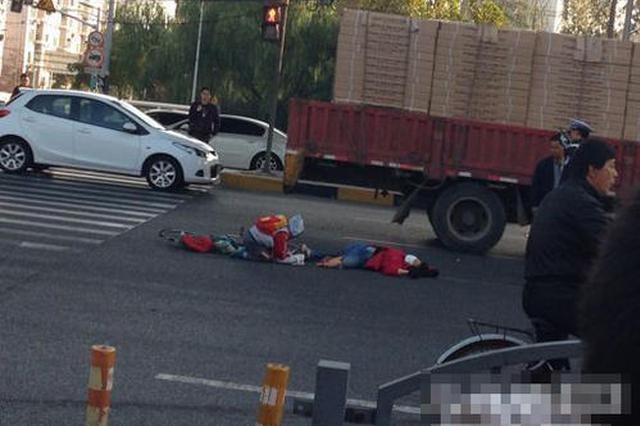 车辆未停稳祖孙俩被撞致亡 肇事司机被依法控制