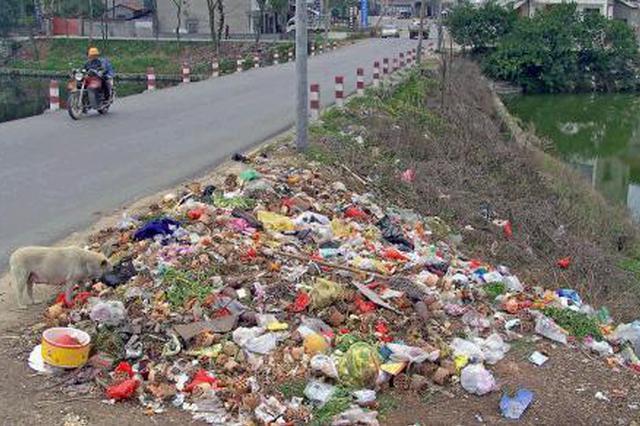 陕西省整治农村生活垃圾非正规堆放点1288处