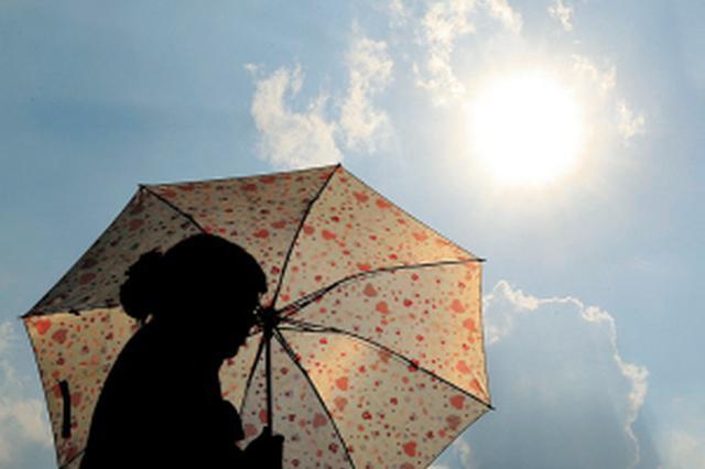"""""""秋老虎""""再袭关中陕南 西安今明最高气温35℃至37℃"""