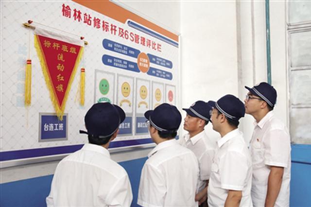 榆林站修作业场创新6S管理 保障陕北运煤货运增量