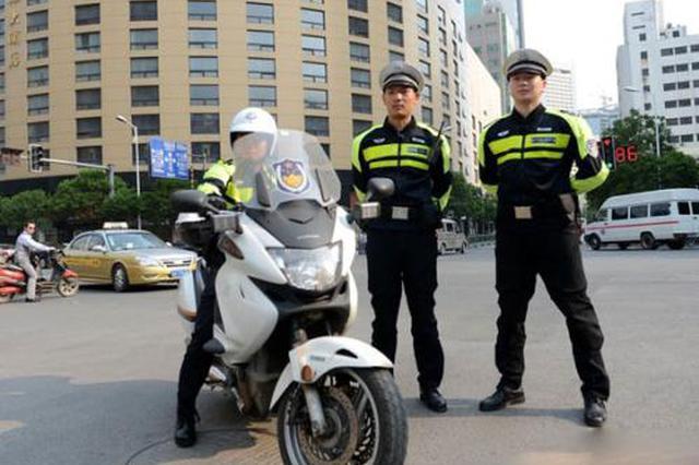 咸阳交警出动警力120人次 查处交通违法行为267起