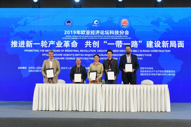 2019年欧亚经济论坛科技分会闭幕 4家德方企业与西安高新签约