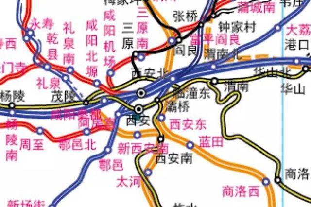西安将新建5个火车站 就在这几个区