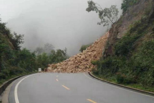 陕西宁强和佛坪部分国道中断 过往车辆需绕行