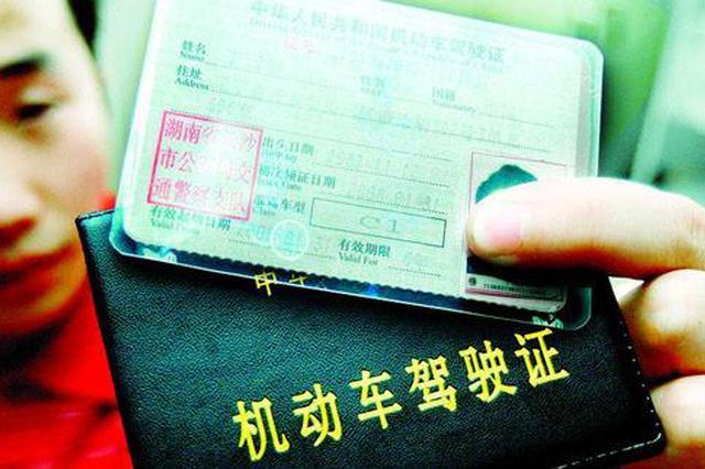 长武男子伪造驾照被拘15日罚款6000元