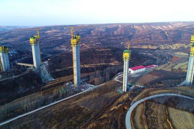 黄蒲高速白水河大桥架梁完成 全长80.09公里投资75亿元