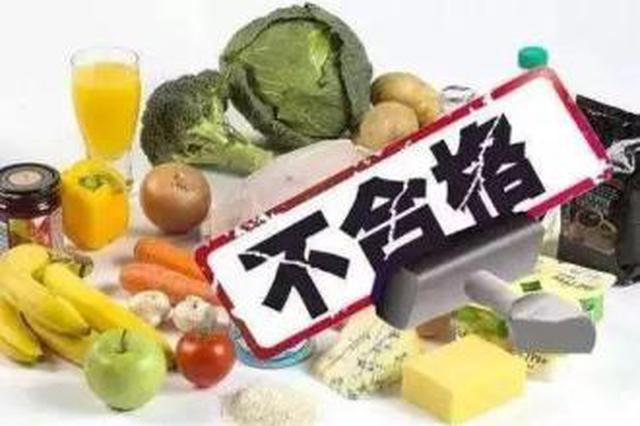 陕西省市场监督管理局通报15批次不合格食品