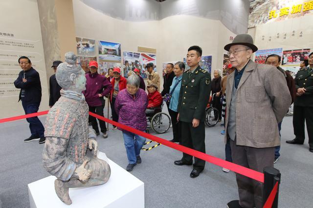 陕西70年变化 令两位抗美援朝老兵感慨万千