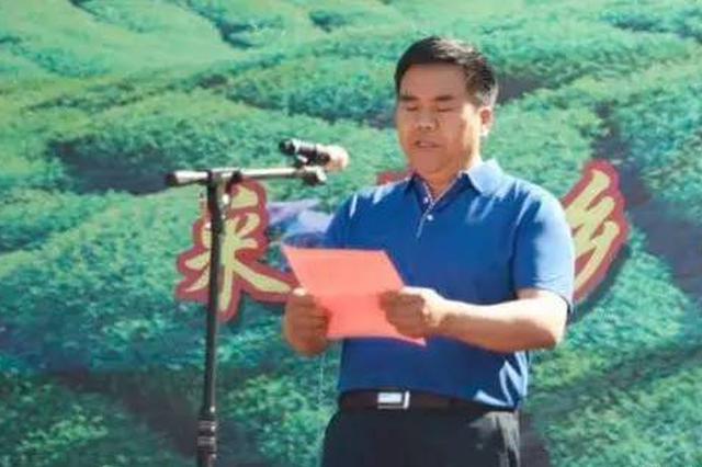 商南县原县委常委、县委统战部部长汪裕仓被逮捕