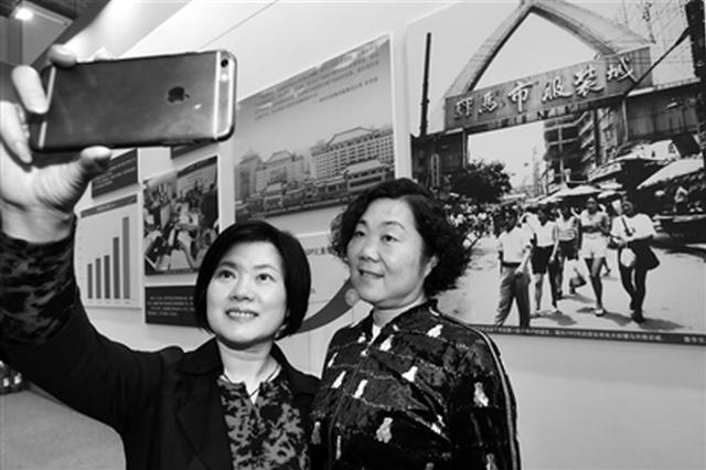 骡马市服装市场照片引共鸣 见证西安首批个体户诞生