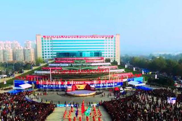 第26届杨凌农高会设20个临时停车场方便停车
