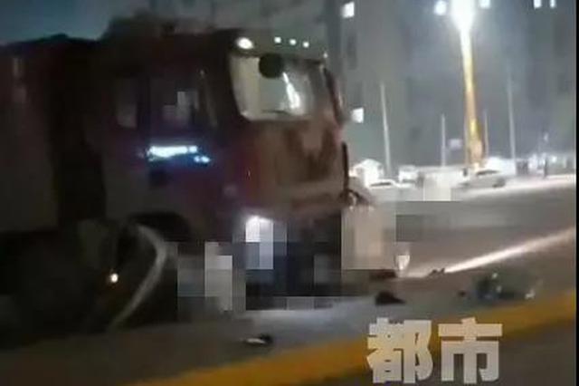 临潼车祸4人不幸遇难监控记录事发瞬间 司机已被控制