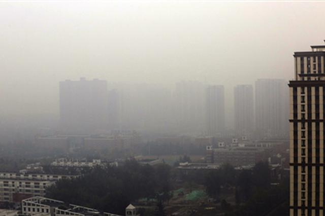 """西安昨日遭遇""""霾""""伏 今明陕西省多地有雨"""