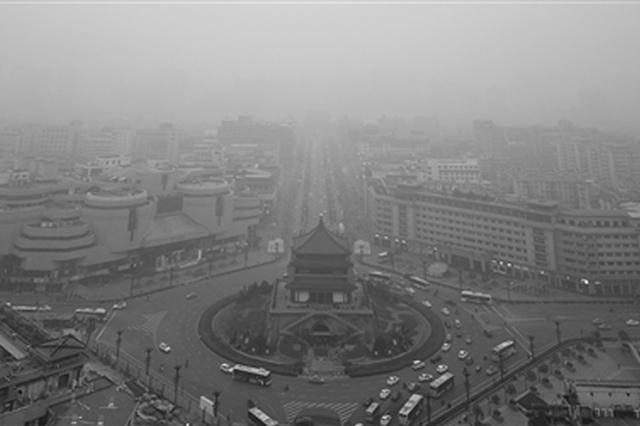 陕西发布寒潮预警 今明两天大降温有雨雪天气