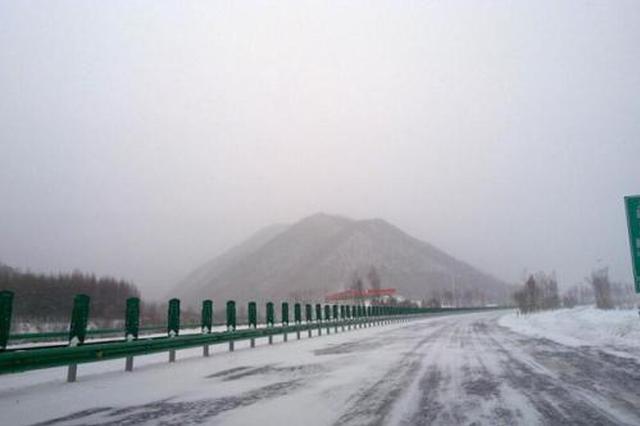 受下雪天气影响 陕西多条高速路入口暂时封闭