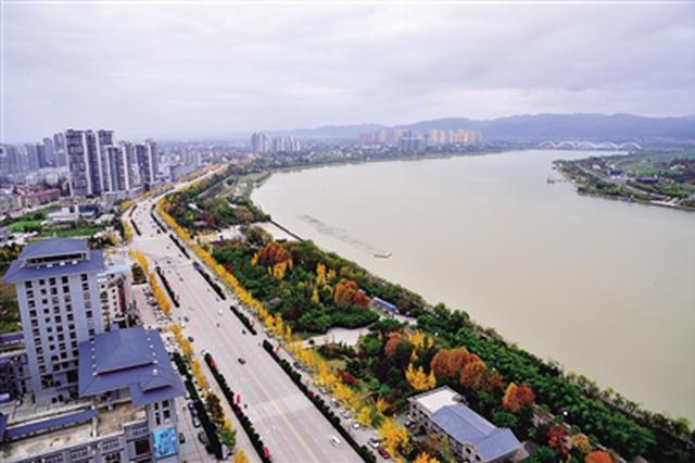 河流污染问题从源头杜绝 陕西省出境水质甘洌清甜