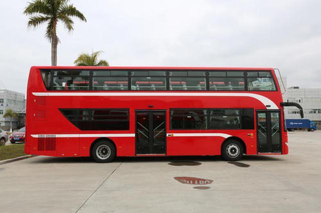 西咸新区开通首条双层巴士 1121路区间车连起沣西新城