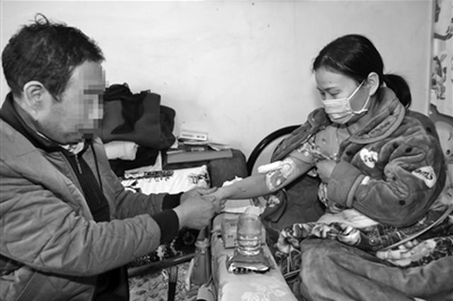 """女子放疗25次后等着做手术 全城急寻""""熊猫血"""""""