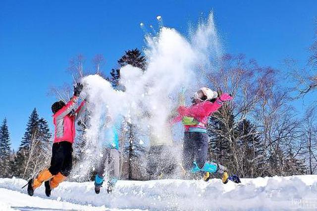 汉中也有冰雪游 陕西冬季旅游市场出现新热点