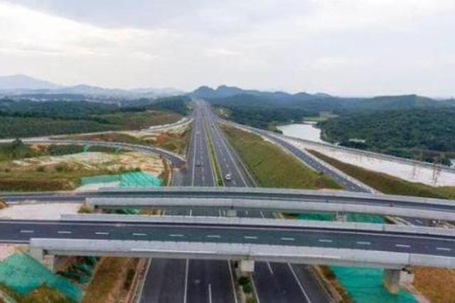 包茂高速公路 安康北互通立交工程日前开工建设