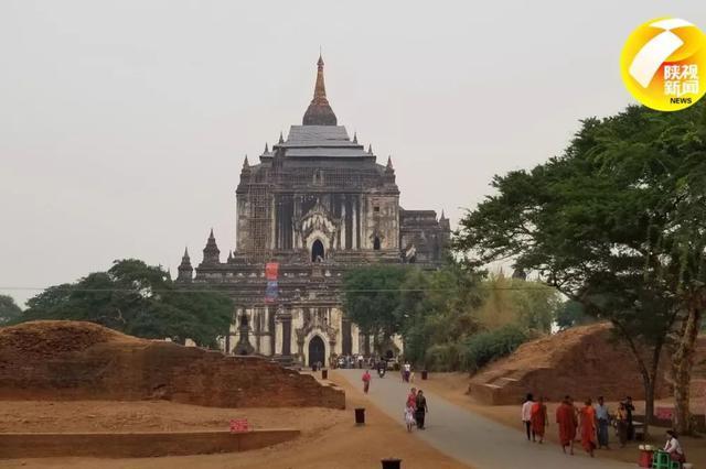 """陕西为""""胞波""""缅甸修复佛塔 获缅甸总统赞誉"""