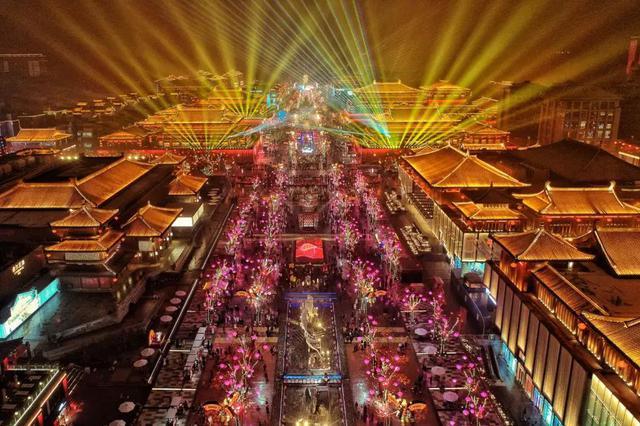 新华网:盛世新年在长安