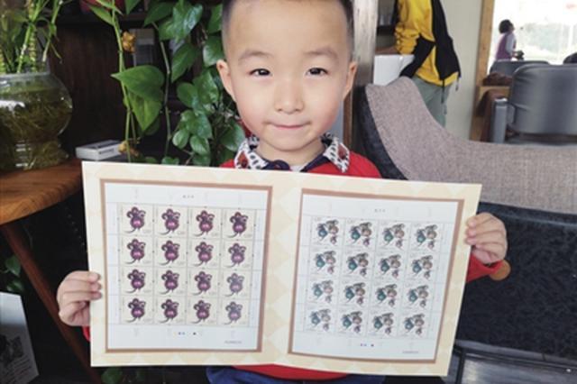 鼠年生肖邮票普遍涨价 目前大版张售价200元左右
