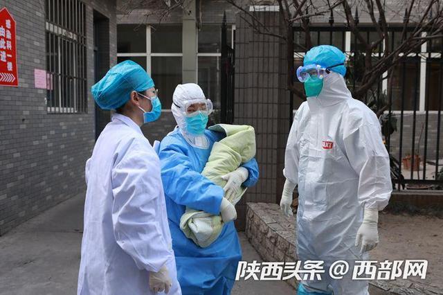 陕西首例新型冠状病毒肺炎产妇今出院 带健康宝宝回家乡