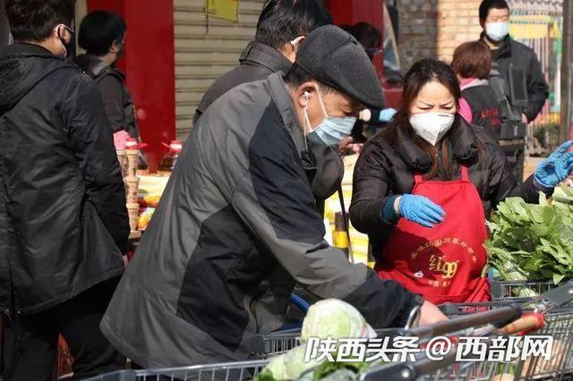 """小区内设售菜点 西安灞桥用""""七个一""""保障群众菜篮子"""