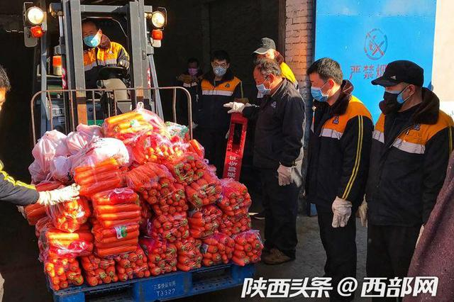 第21天再出发!满载213吨物资的列车从西安向武汉急驰