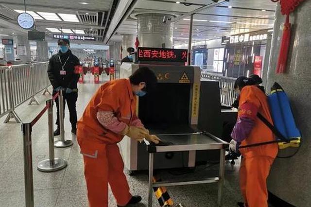 西安地铁北客站开展应急疏散演练 做好大客流准备工作