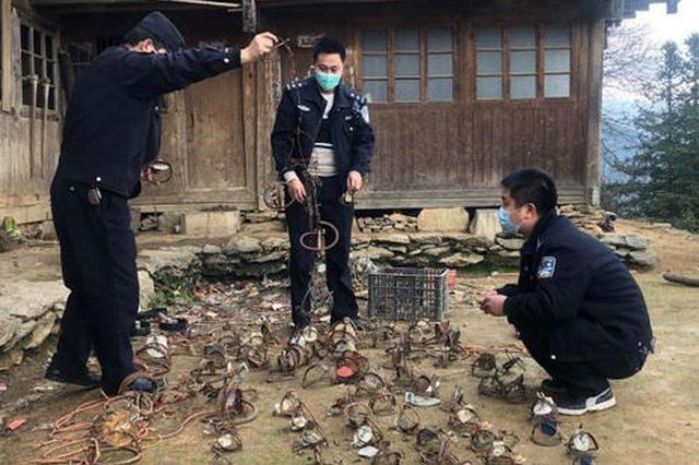 陕西省六部门联合印发通知 严厉打击非法制售猎捕工具