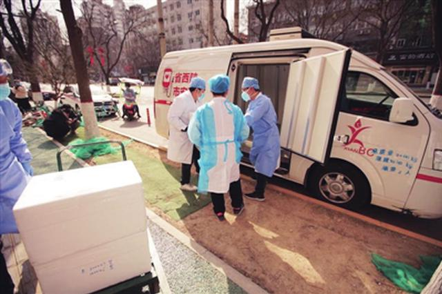 驰援湖北 陕西省11家血站紧急调拨30万毫升血液