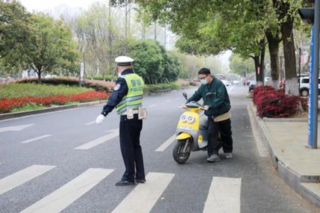 西安开展非机动车交通秩序治理 违法行为录入数据库
