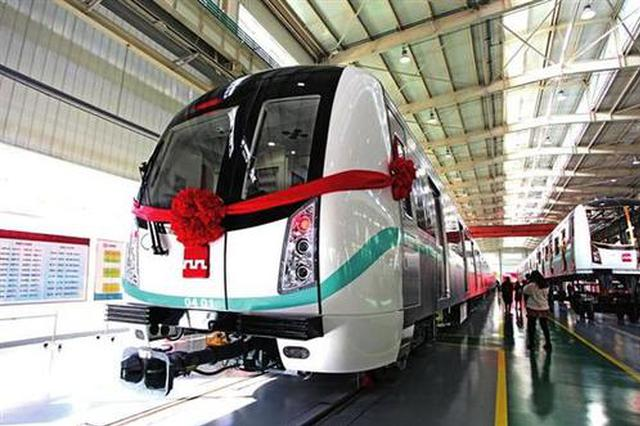 """西安地铁5号线一期全线""""轨通""""预计年底通车试运营"""