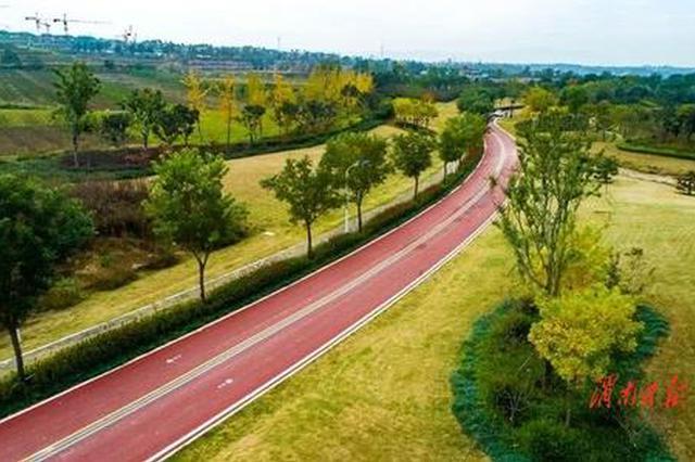 渭南生态绿廊林带5月将完工 规划范围长度58.2公里