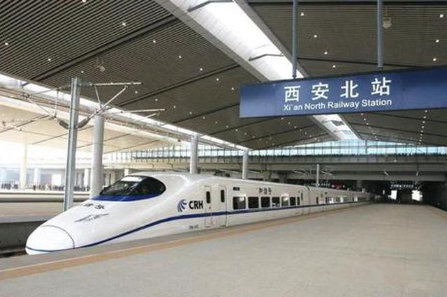 10日起西安北站开行旅客列车265对 其中直通列车202对