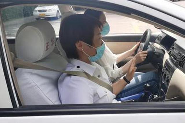 西安一抗疫护士学车遇惊喜 驾校竟然费用全免!