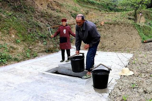 昔日担水吃今日水到家 灞桥区三阳院村民喝上放心水