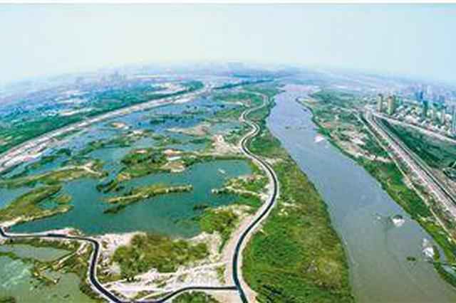 好消息!经开区氵皂河入渭口滩区9月底建成开园