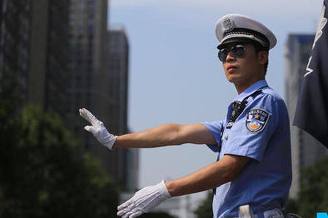西安交警护学保安全 中学生连写两封感谢信