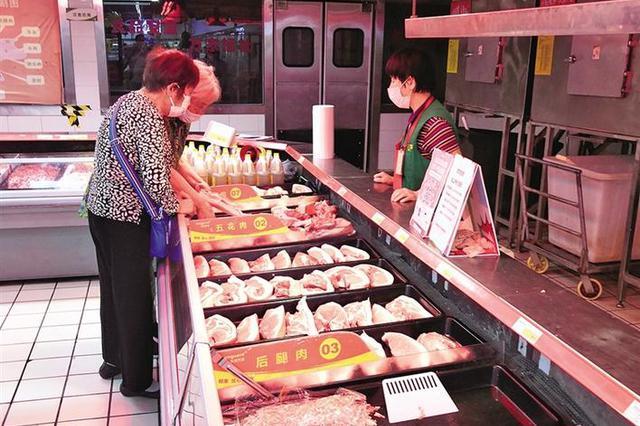 陕西猪肉市场价格回落 市场需求总体平稳