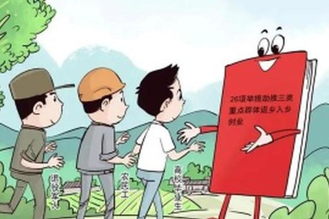 陕西26项举措鼓励三类重点群体返乡入乡创业