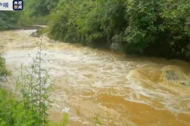 汉中多县区降雨量达50毫米以上 2800多名群众安全转移