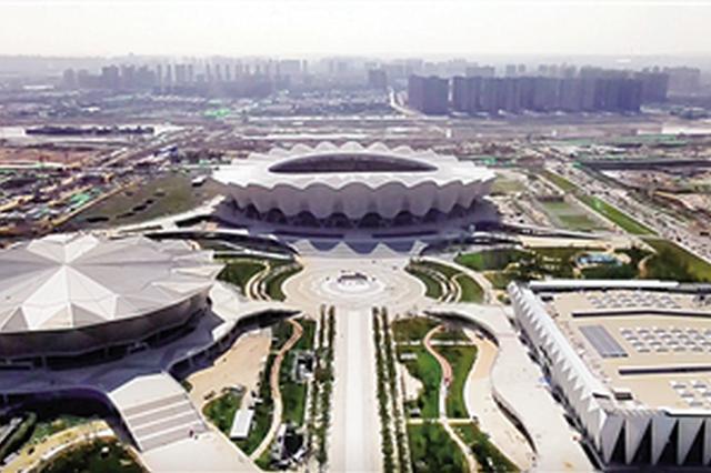 西安奥体中心竣工交付 西北最大体育中心996天建成