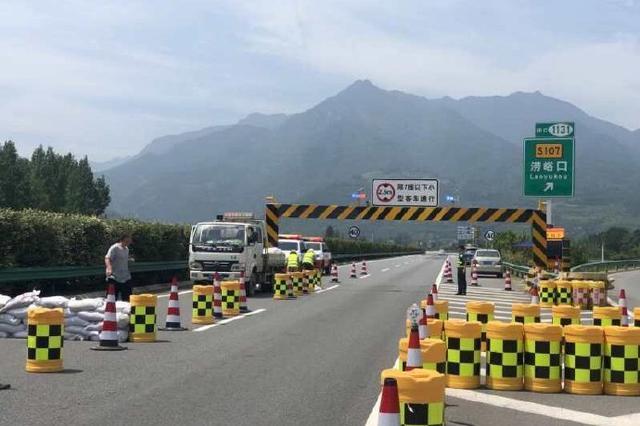 西汉高速今日起进行路面养护 禁止大货车通行