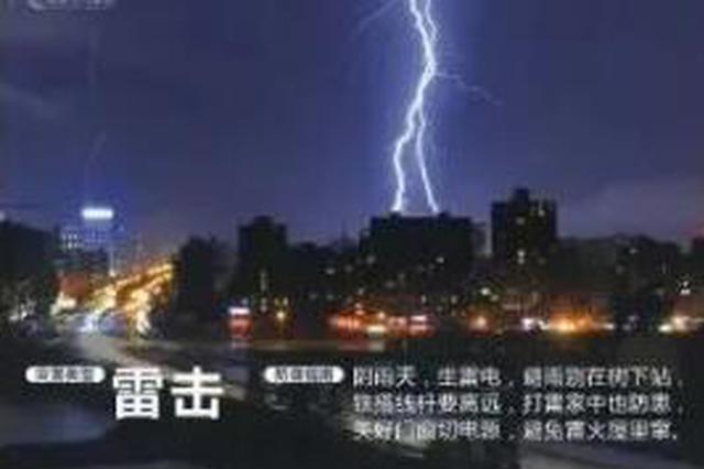 沈阳雷击高压电线像火龙劈向高楼 陕西也有电线杆被雷击中
