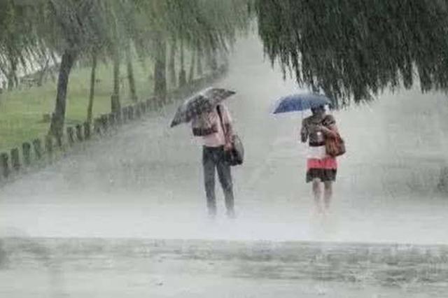 8月3日至7日夜间陕西有强降水 陕北、陕南局地有暴雨